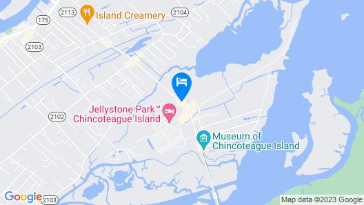 Days Inn by Wyndham Chincoteague Island Map