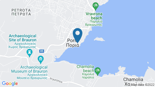 Dolce by Wyndham Attica Riviera Map