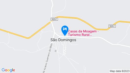 Casas da Moagem Turismo Rural Map