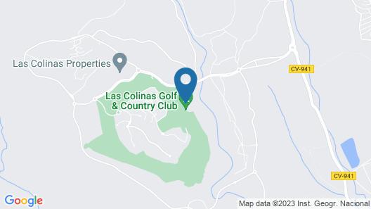 Las Colinas Golf & Country Club Map