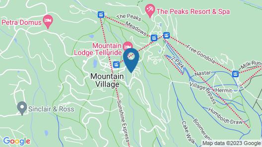 Bear Creek Lodge Map