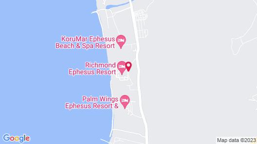 Richmond Ephesus Resort - All Inclusive Map