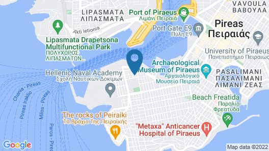 A Luxury Maisonette With Sea View Map