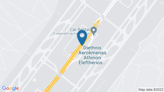 Sofitel Athens Airport Map