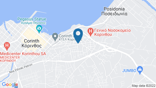 Sweet Home Suite Apartment of Corinth Map