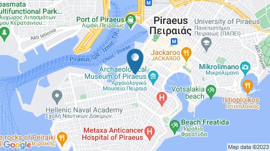 Hotel Glaros Map
