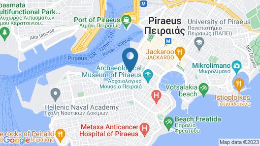 Hotel Poseidonio Map