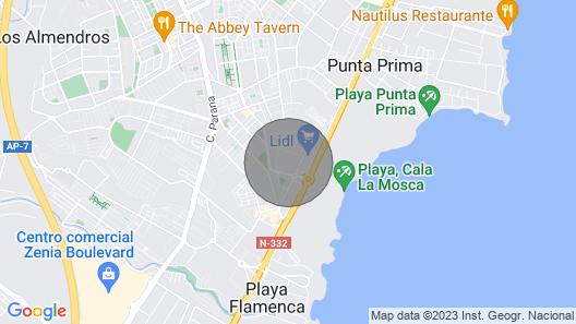 Costa Blanca - Playa Flamenca - Apartment sea Coast Beach Golf Resort LA Calma Map