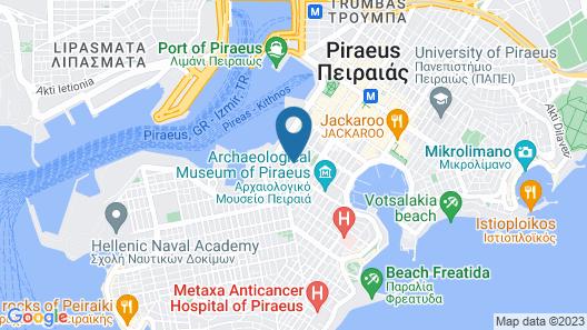 Faros 1 Hotel Map