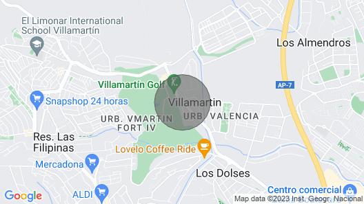 Villamartin Plaza Apartment Map