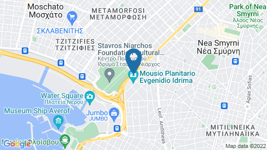 Athens Marriott Hotel Map