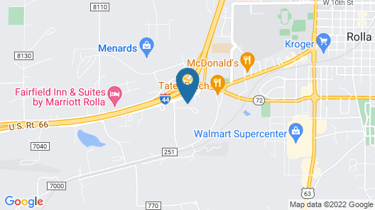Econo Lodge near Missouri University of Science and Technology Map
