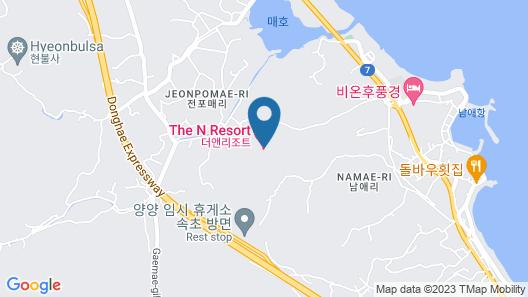 The N Resort Hotel&Spa Map