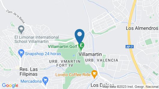 Villamartin Golf Health & Beauty Map