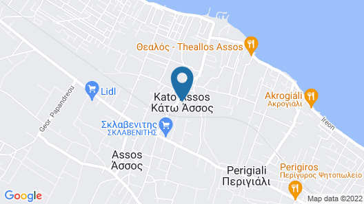 Seaside Villa (Apartment 3) Map