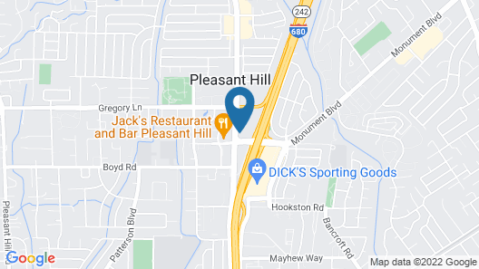 Sonesta Select Pleasant Hill Map