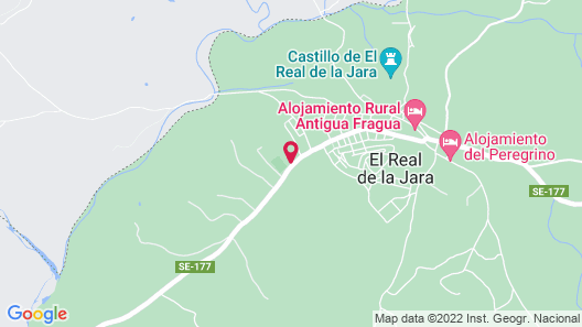 Great Rural House Villamada IN THE Sierra Norte DE Sevilla !!! Map