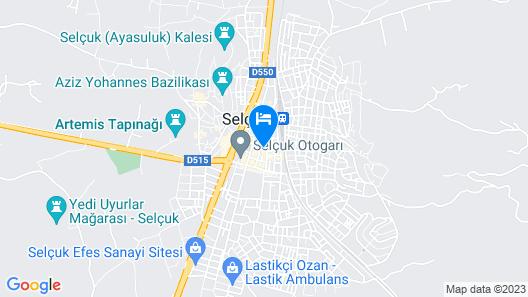 Ephesus Centrum Map