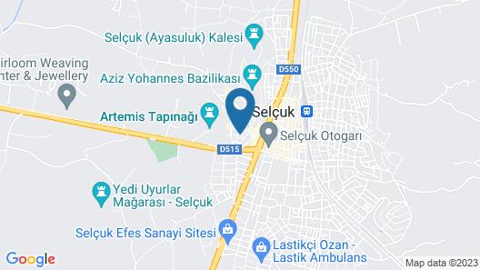 Kasbah Shirin Map