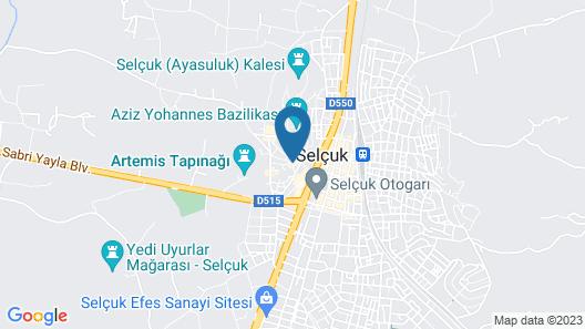 Ayasoluk Hotel Map