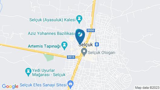 Selena Hotel Map