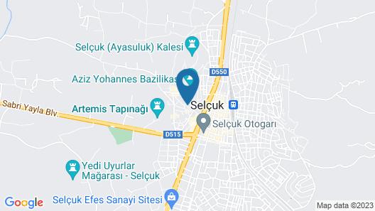 Celsus Boutique Hotel Map