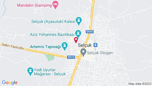 İbri Boutique hotel Map