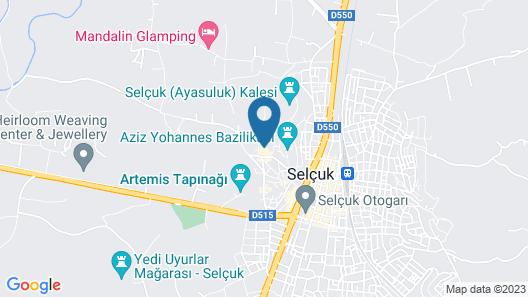 Rebetika Hotel Map