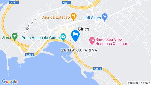 Casa do Médico de São Rafael Map
