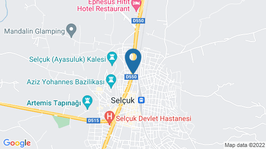 Hotel Ave Maria Map