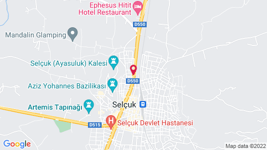 Hotel Kalehan Map