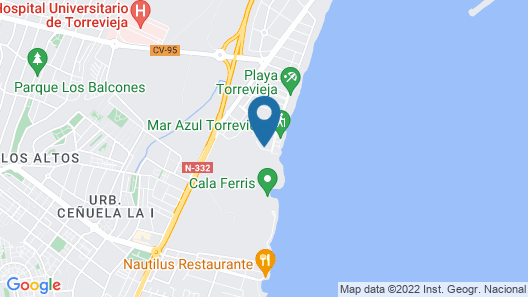 Fidalsa Spectacular Beachfront Map