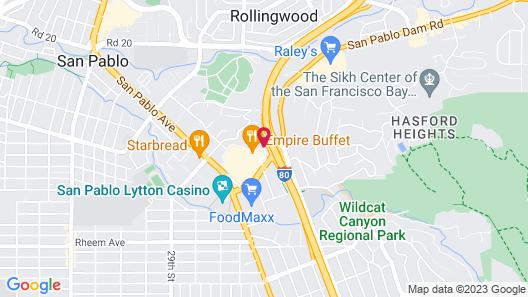 Holiday Inn Express Hotel & Suites San Pablo - Richmond Area, an IHG Hotel Map