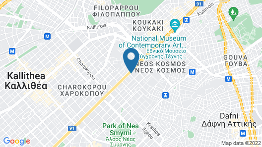 Grand Hyatt Athens Map
