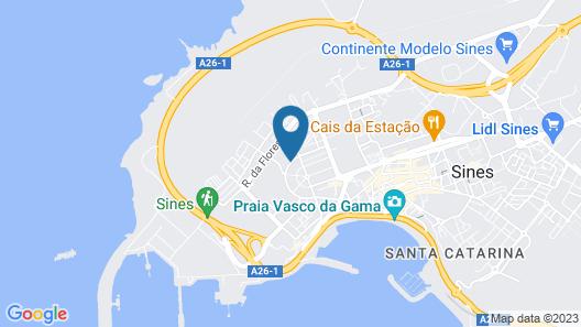 Hotel Dom Vasco Map