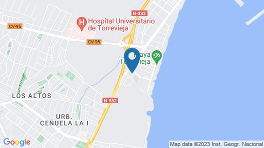 Torrevieja Experience Mar Azul Map