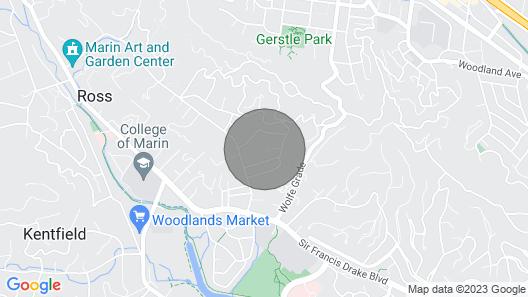 Kentfield , Marin Home Map