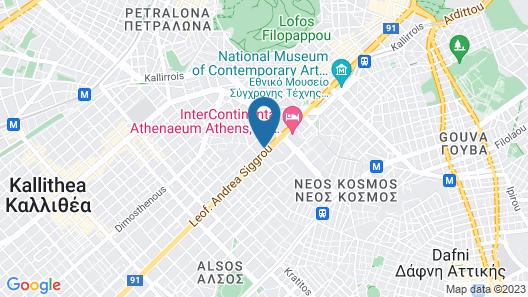 Athenaeum Grand Hotel Map
