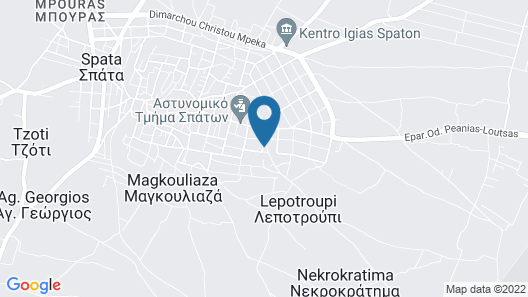 Athens Airport Lodge Map