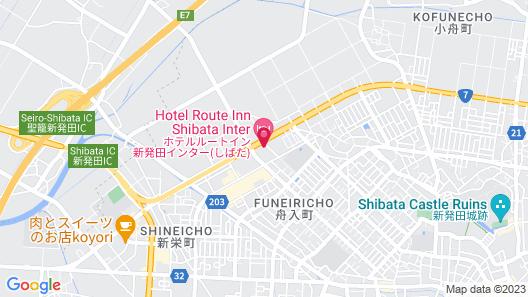 Hotel Route-Inn Shibata Inter Map