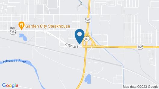National 9 Inn Garden City Map