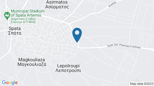 Apartment Kanakis 2 Map