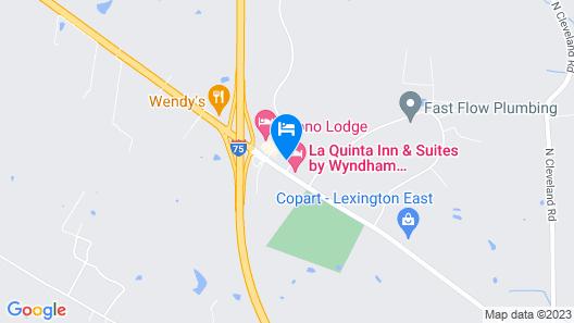 Days Inn by Wyndham Lexington Southeast Map
