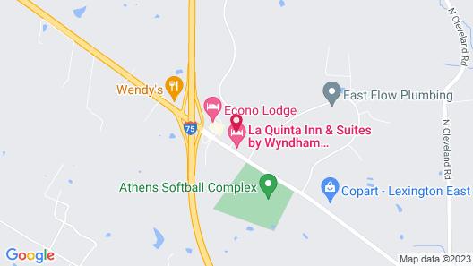 La Quinta Inn & Suites by Wyndham Lexington South / Hamburg Map