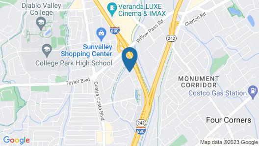 Residence Inn by Marriott Pleasant Hill Map