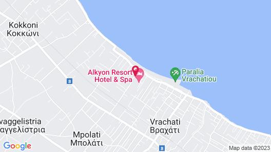 Alkyon Resort Hotel & Spa Map