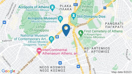 Acropolis Ami Boutique Hotel Map