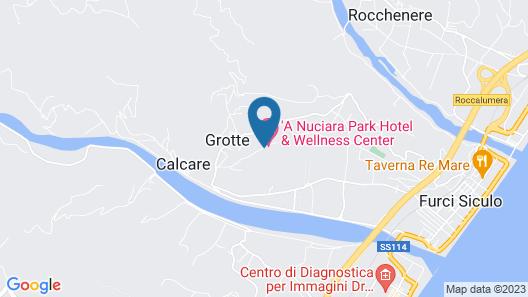 A Nuciara Park Hotel & Wellness Center Map