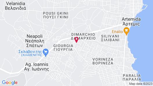 Peri's Hotel Map