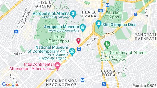 Acropolis Select Hotel Map